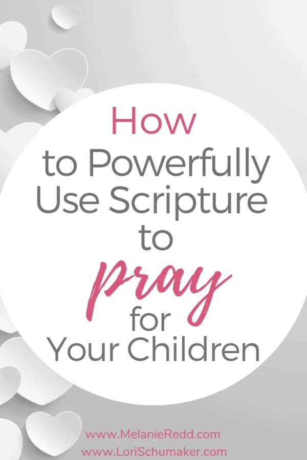 Do you long to pray with confidence? When you use Bible verses to pray over your child, you can pray with the confidence of knowing you are in the will of God. But how? #prayer #prayforyourchild #prayingforchildren #prayforfamily #prayingscripture #bibleverses #prayingmom #scripture #glodslove