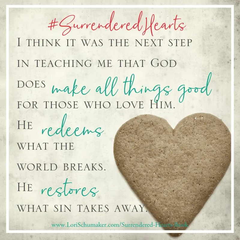 Surrendered Hearts: Next Step in Teaching Me #SurrenderedHearts