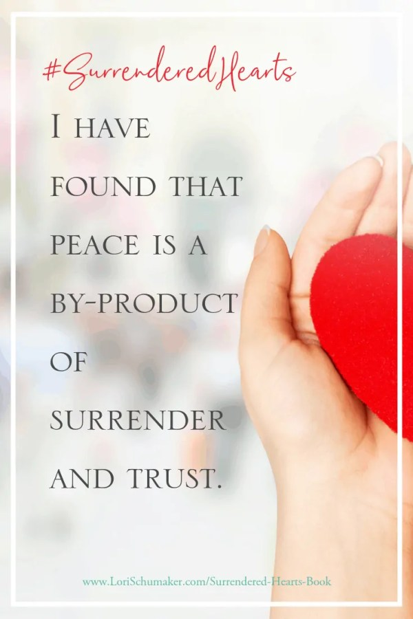 Are you fighting for control and feeling exhausted? Does surrender feel like losing? This book will encourage you to live surrendered and trust that on the other side of what is difficult, with God it will all somehow be okay. | Surrender to God | #SurrenderedHeartsBook #Godslove #ChristianAuthor #Adoption #NationalAdoptionMonth