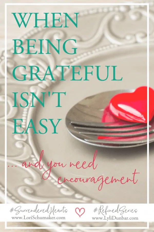 Are you facing a season of obstacles that make being grateful difficult? We all need an encouraging reminder from time to time. #thanksgiving #grateful #gratitude #gratefulheart #adoptionstories #christianbooks #surrenderedheartsbook
