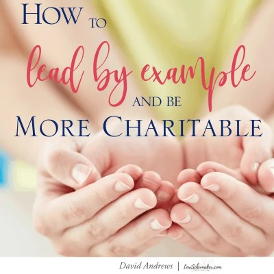 Just as God works for our good, we, too, should do the same for others. That is the heart behind Christian charity. There are many ways we can do this. Let's look at three ways... #christianliving #parenting #leadbyexample #charity #generosity #charitable #motherhood #charitableresources