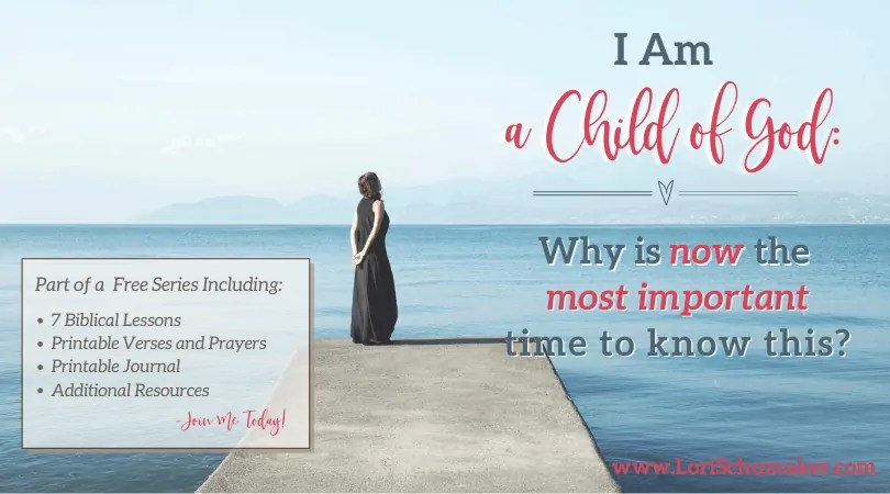 """Can you say, """"I am a child of God"""" and feel the power of that statement? Do the circumstances we currently face in our world leave you feeling unsteady? Fearful? Angry? There is not a better time to embrace God's love and live steady in His reflection."""