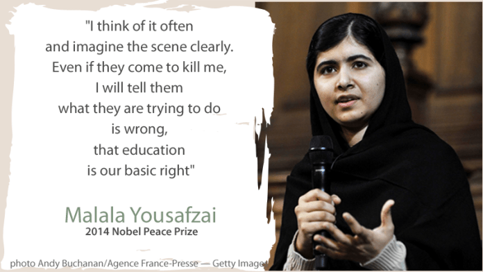Author and Text Malala
