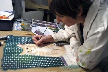 laure simonin artiste peintre animalier
