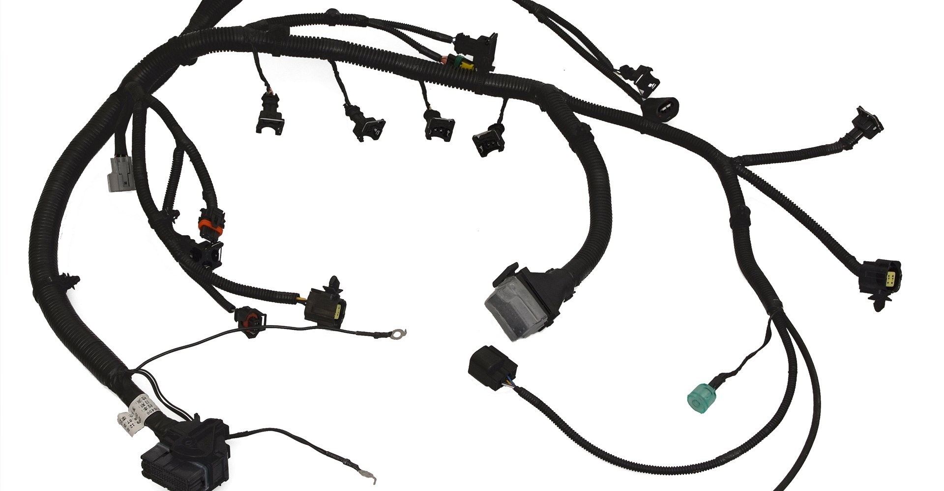 Automotive wire harness products on wiring harness clips