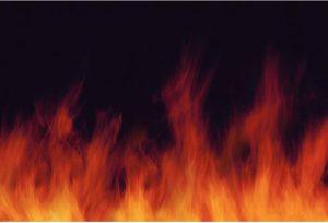 Stress can feel like burning hot flames