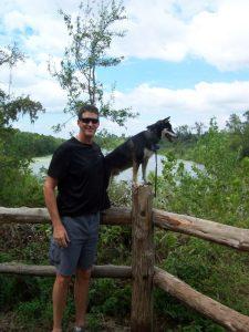 Kuma recalls his trip to Stephen F. Austin State Park