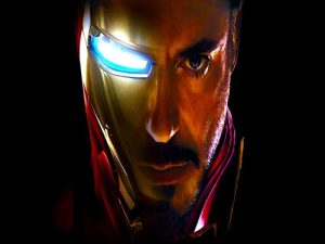 Robert Downey Jr is Iron Man