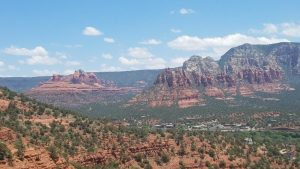 Expansive view of Sedona