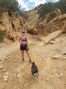 Kuma's first slot canyon