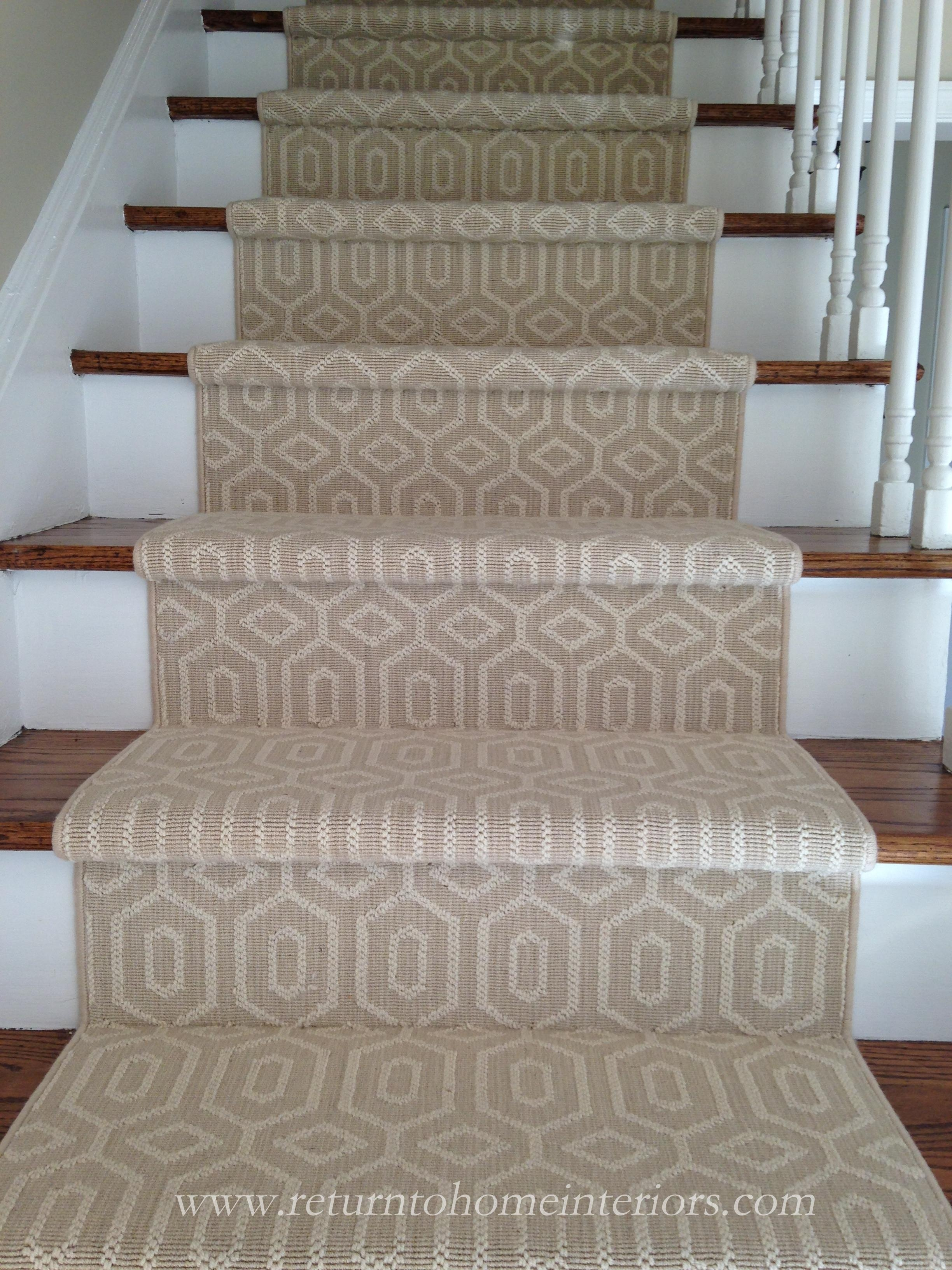 Choosing A Stair Runner Some Inspiration And Lessons Learned | Rug Runners For Stairs | Wood | Antelope | Hallway | Persian | Mid Century Modern