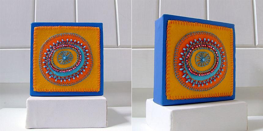 Orange and Turquoise 1