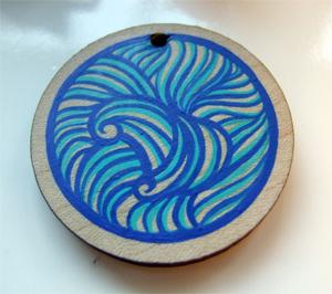 Sea pendant I
