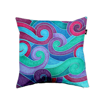 Turbulence Cushion Cover