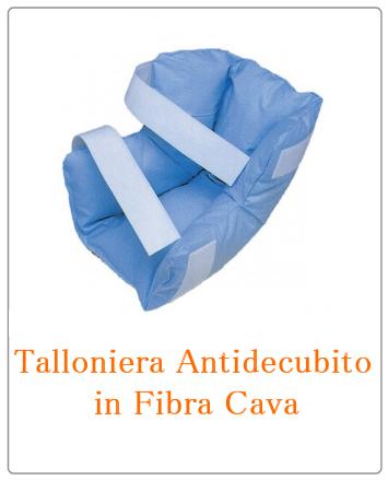talloniere antidecubito in fibra cava