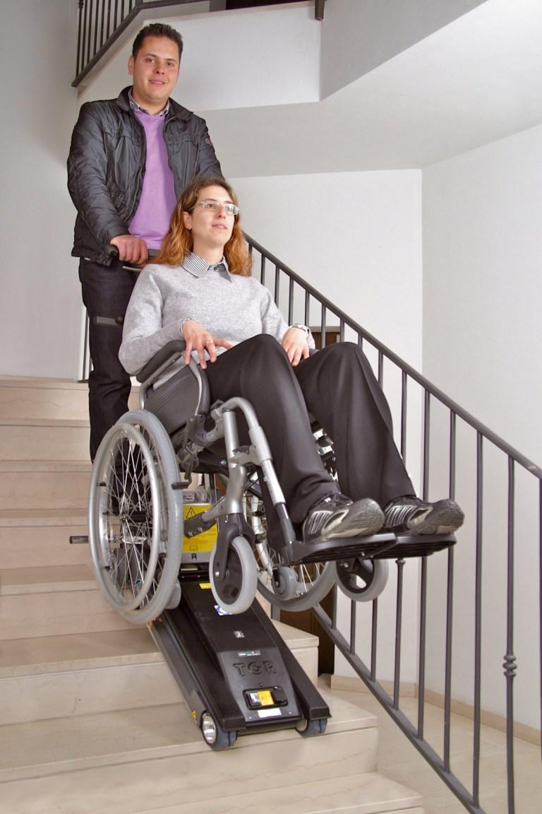 Noleggio Montascale Saliscale per Anziani e Disabili