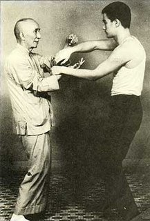 Yip Man y Bruce Lee