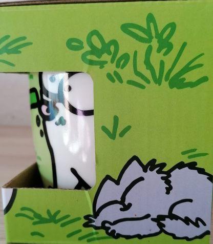 TAZA Simon's Cat Verde