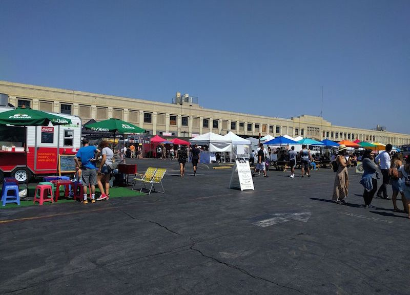 Smorgasburg in Downtown Los Angeles