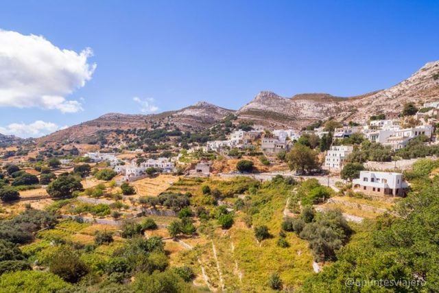 Apeiranthos - Naxos - Viaje a las islas griegas