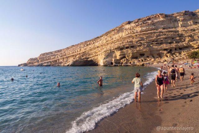 Matala - Creta - Viaje islas griegas