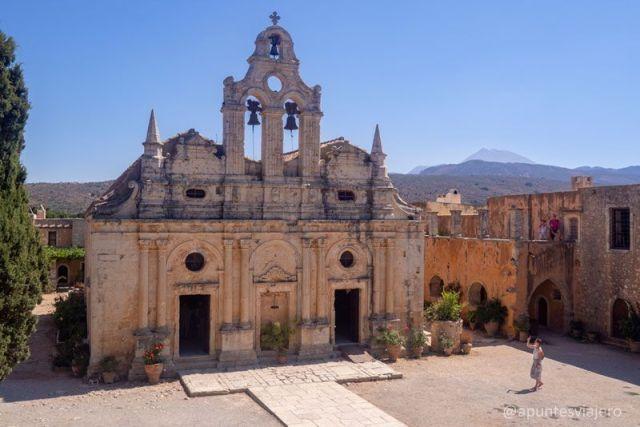 Monasterio de Arkadi - Creta - Viaje islas griegas
