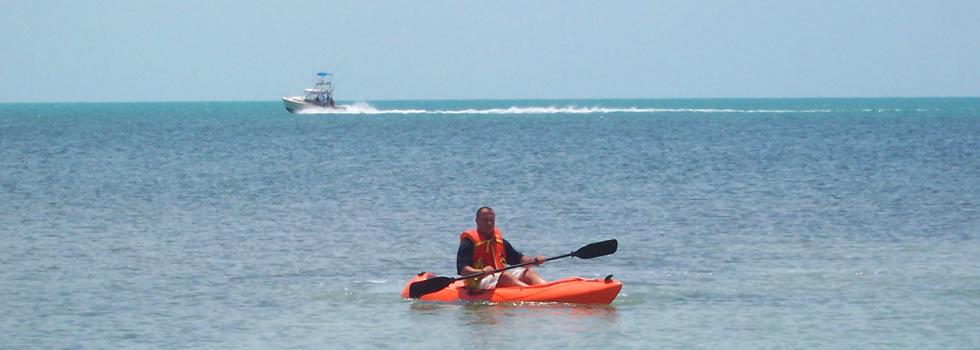 Kayak en las Playas de Key Largo