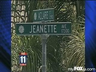 Who killed Cerritos resident Kristine Holmstedt?