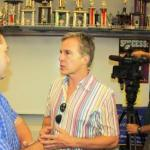 NBC4 Anchor, Robert Kovacik, to Follow Cerritos High School Wind Symphony to London Olympics