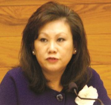 Embattled Cerritos City Councilwoman Carol Chen.