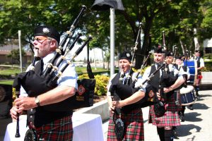 The sound of bag pipes filled the air at the Cerritos Memorial Day Ceremony this past week.  Daniel E. Beckham Photo