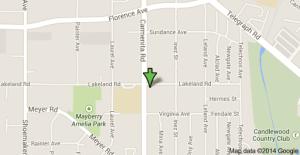 Location of stabbing death is at Carmenita Road near Lakeland Road.