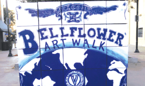 The City of Bellflower held their first of three downtown art walks. The Bellflower Art Walk will have two more events on November 19th and December 10th. Photo by Tammye McDuff.