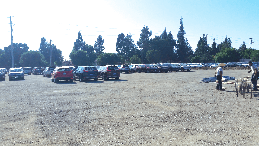 Norm Reeves Honda Cerritos Cars Parked At The Former Manassero Strawberry  Fields. Many Cerritos Residents Were Irate, Cerritos College Apologized For  Its U201c ...
