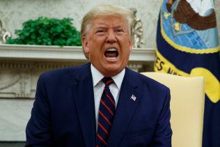 trump yelling