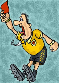 arbitro di calcio