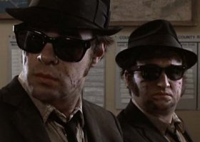"Una scena del film: ""The Blues Brothers"""
