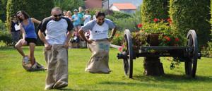 Nichelino - Corsa con i sacchi