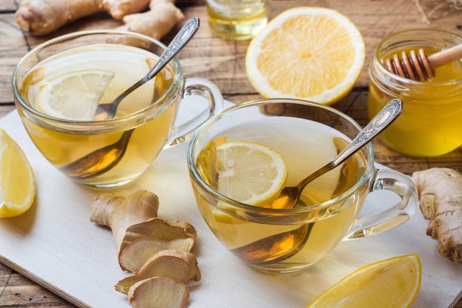 La tisana con zenzero e limone: un toccasana in autunno
