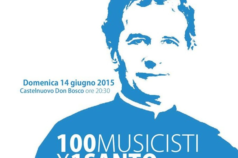 100 musicisti x 1 santo