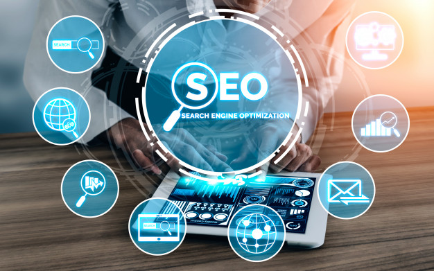 Digital marketing SEO SERP