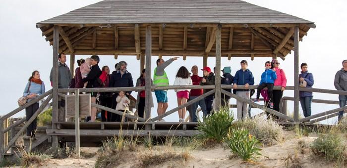 """Primera visita guiada a Los Corrales de Rota con la certificación """"Q"""" de Calidad Turística otorgada por el Instituto para la Calidad Turística Española."""