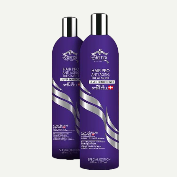 Silver Shampoo Conditioner Anti Aging Treatment Los Encargos
