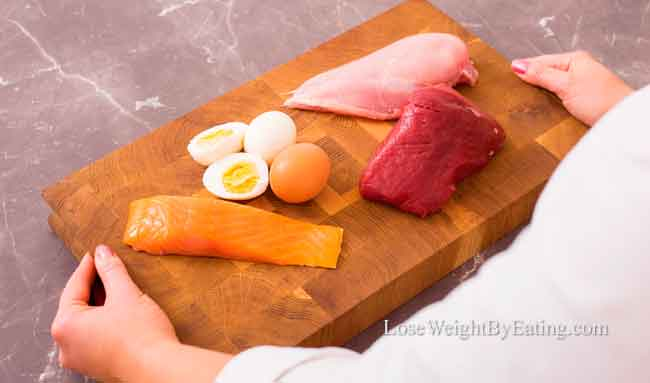 How to lose weight protein
