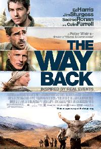 Póster y tráiler de 'The Way Back', la nueva película de Peter Weir