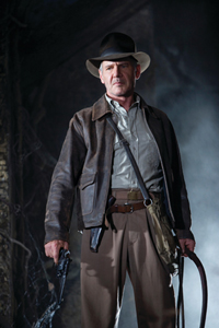 'Indiana Jones y el reino de la calavera de cristal'