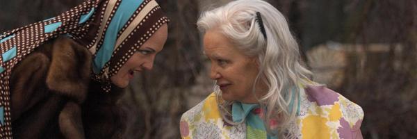 Drew Barrymore y Jessica Lange en 'Grey Gardens'