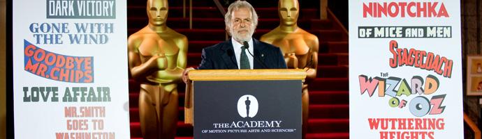 El presidente de la Academia, Sid Ganis, anuncia que habrá diez nominadas a la mejor película