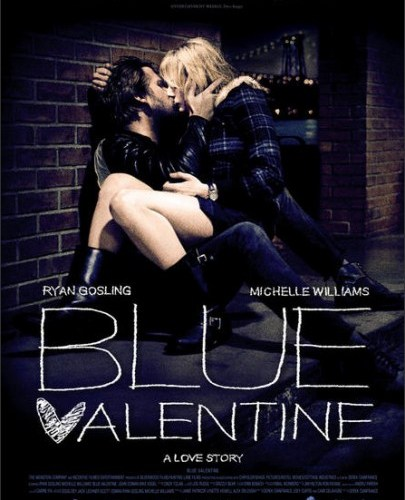 Póster de 'Blue Valentine', con Ryan Gosling y Michelle Williams