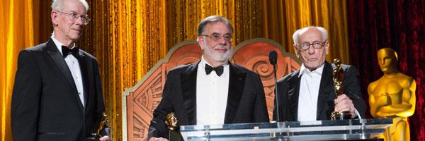 Coppola y Eli Wallach recogen sus premios honoríficos